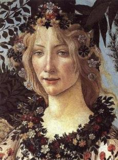 "Flora from ""Primavera"" (Image from Wikipedia)"